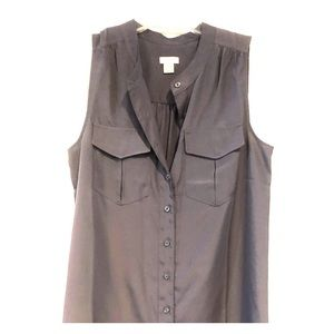 JCrew Sleeveless Blouse